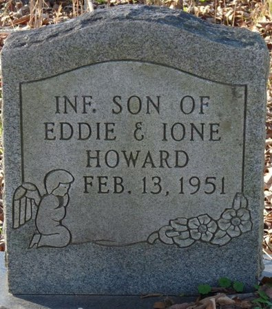 HOWARD, INFANT SON - Colbert County, Alabama | INFANT SON HOWARD - Alabama Gravestone Photos