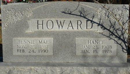 HOWARD, JENNIE MAE - Colbert County, Alabama | JENNIE MAE HOWARD - Alabama Gravestone Photos