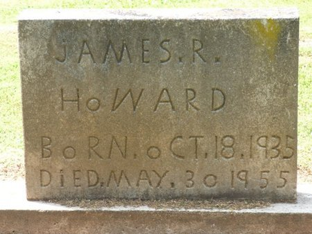 HOWARD, JAMES ROY - Colbert County, Alabama | JAMES ROY HOWARD - Alabama Gravestone Photos
