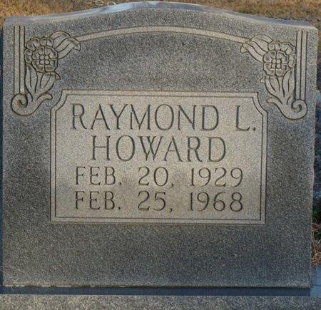 HOWARD, RAYMOND L - Colbert County, Alabama | RAYMOND L HOWARD - Alabama Gravestone Photos