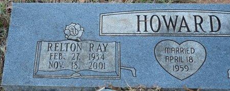 HOWARD, RELTON RAY - Colbert County, Alabama | RELTON RAY HOWARD - Alabama Gravestone Photos