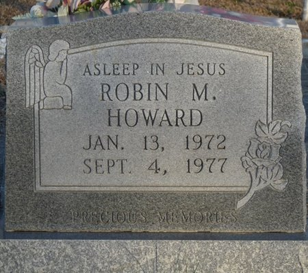 HOWARD, ROBIN M - Colbert County, Alabama | ROBIN M HOWARD - Alabama Gravestone Photos
