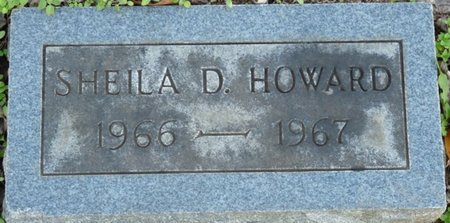HOWARD, SHEILA D - Colbert County, Alabama | SHEILA D HOWARD - Alabama Gravestone Photos