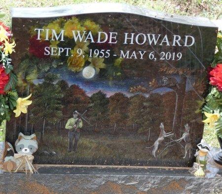 HOWARD, TIM WADE - Colbert County, Alabama   TIM WADE HOWARD - Alabama Gravestone Photos