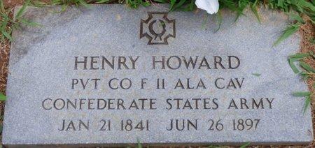 HOWARD (VETERAN CSA), HENRY - Colbert County, Alabama | HENRY HOWARD (VETERAN CSA) - Alabama Gravestone Photos