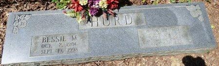 HURD, BESSIE M - Colbert County, Alabama | BESSIE M HURD - Alabama Gravestone Photos