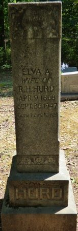 HURD, ELVA A - Colbert County, Alabama | ELVA A HURD - Alabama Gravestone Photos