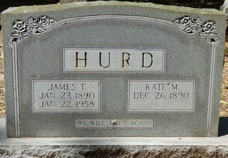 "HURD, JAMES THOMAS ""JIM TOM"" - Colbert County, Alabama 