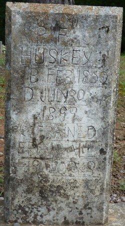 HUSKEY, PLEASANT FERNANDO - Colbert County, Alabama | PLEASANT FERNANDO HUSKEY - Alabama Gravestone Photos