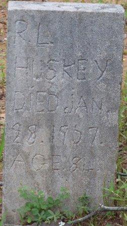HUSKEY, R.L. - Colbert County, Alabama   R.L. HUSKEY - Alabama Gravestone Photos