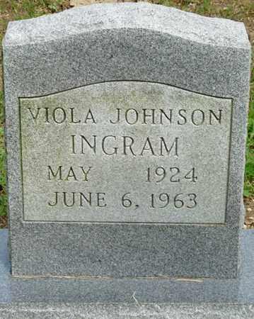 JOHNSON INGRAM, VIOLA - Colbert County, Alabama | VIOLA JOHNSON INGRAM - Alabama Gravestone Photos