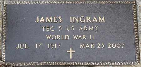 INGRAM (VETERAN WWII), JAMES - Colbert County, Alabama   JAMES INGRAM (VETERAN WWII) - Alabama Gravestone Photos