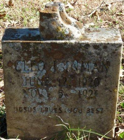 INMAN, CLEO I - Colbert County, Alabama | CLEO I INMAN - Alabama Gravestone Photos