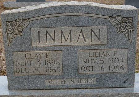 INMAN, CLAY ELLIOTT - Colbert County, Alabama | CLAY ELLIOTT INMAN - Alabama Gravestone Photos