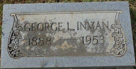 INMAN, GEORGE L - Colbert County, Alabama | GEORGE L INMAN - Alabama Gravestone Photos