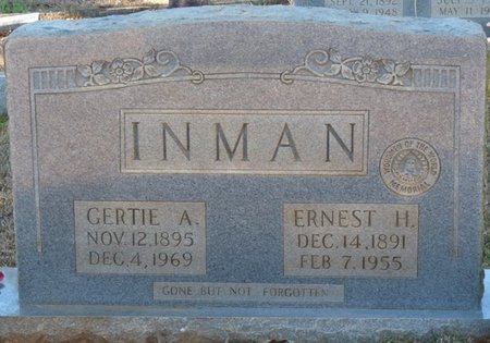 INMAN, GERTIE A - Colbert County, Alabama | GERTIE A INMAN - Alabama Gravestone Photos