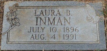 INMAN, LAURA B - Colbert County, Alabama | LAURA B INMAN - Alabama Gravestone Photos