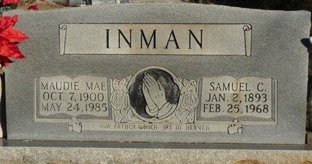 INMAN, MAUDIE MAE - Colbert County, Alabama | MAUDIE MAE INMAN - Alabama Gravestone Photos