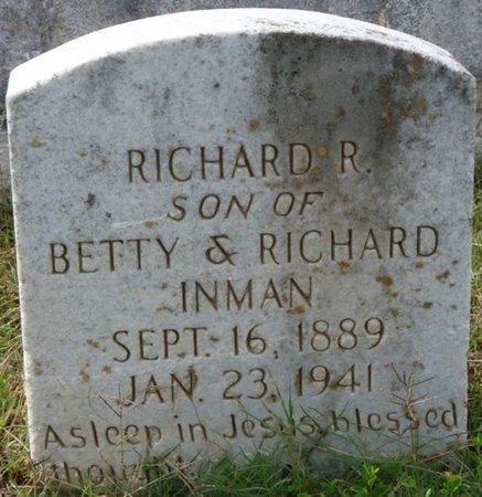 INMAN, RICHARD ROSS - Colbert County, Alabama   RICHARD ROSS INMAN - Alabama Gravestone Photos