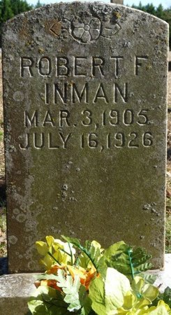 INMAN, ROBERT F - Colbert County, Alabama | ROBERT F INMAN - Alabama Gravestone Photos