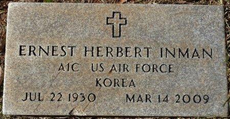 INMAN (VETERAN KOREA), ERNEST HERBERT - Colbert County, Alabama | ERNEST HERBERT INMAN (VETERAN KOREA) - Alabama Gravestone Photos