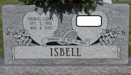 ISBELL, THOMAS LARRY - Colbert County, Alabama | THOMAS LARRY ISBELL - Alabama Gravestone Photos
