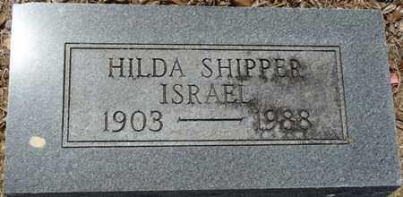 ISRAEL, HILDA - Colbert County, Alabama   HILDA ISRAEL - Alabama Gravestone Photos