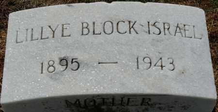 ISRAEL, LILLYE - Colbert County, Alabama | LILLYE ISRAEL - Alabama Gravestone Photos