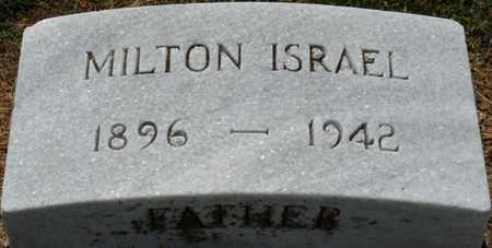 ISRAEL, MILTON - Colbert County, Alabama   MILTON ISRAEL - Alabama Gravestone Photos