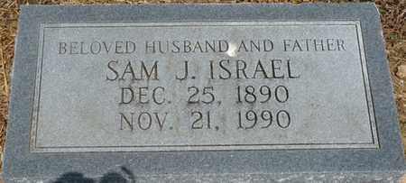 ISRAEL, SAM J - Colbert County, Alabama   SAM J ISRAEL - Alabama Gravestone Photos