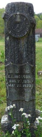 JACKSON, C.T. - Colbert County, Alabama | C.T. JACKSON - Alabama Gravestone Photos