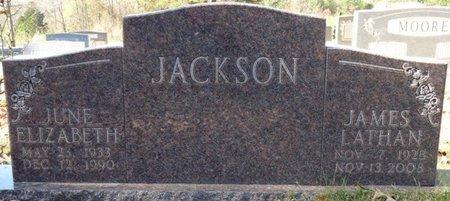 JACKSON, JUNE ELIZABETH - Colbert County, Alabama | JUNE ELIZABETH JACKSON - Alabama Gravestone Photos