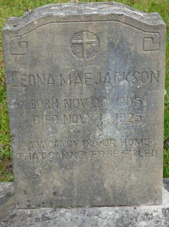 JACKSON, LEONA MAE - Colbert County, Alabama | LEONA MAE JACKSON - Alabama Gravestone Photos