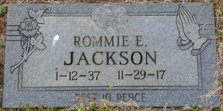 JACKSON, ROMMIE EARLINE - Colbert County, Alabama | ROMMIE EARLINE JACKSON - Alabama Gravestone Photos