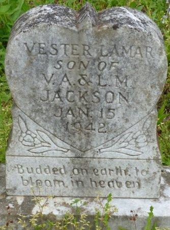 JACKSON, VESTER LAMAR - Colbert County, Alabama | VESTER LAMAR JACKSON - Alabama Gravestone Photos
