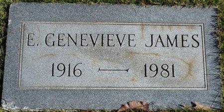 JAMES, E. GENEVIEVE - Colbert County, Alabama   E. GENEVIEVE JAMES - Alabama Gravestone Photos