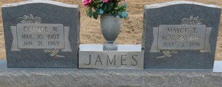 JAMES, GEORGE WILLIAM - Colbert County, Alabama   GEORGE WILLIAM JAMES - Alabama Gravestone Photos