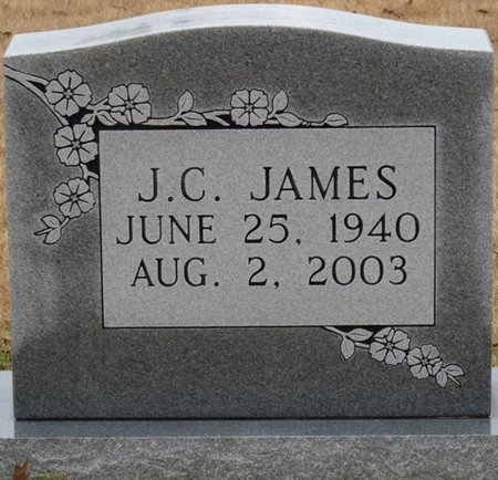 JAMES, J.C. - Colbert County, Alabama | J.C. JAMES - Alabama Gravestone Photos