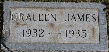 JAMES, ORALEEN - Colbert County, Alabama | ORALEEN JAMES - Alabama Gravestone Photos