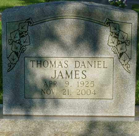 JAMES, THOMAS DANIEL - Colbert County, Alabama | THOMAS DANIEL JAMES - Alabama Gravestone Photos