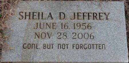 JEFFREY, SHEILA D - Colbert County, Alabama | SHEILA D JEFFREY - Alabama Gravestone Photos