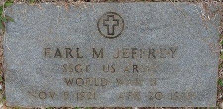 JEFFREY (VETERAN WWII), EARL M - Colbert County, Alabama   EARL M JEFFREY (VETERAN WWII) - Alabama Gravestone Photos