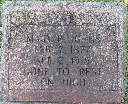 JOHNS, MARY R - Colbert County, Alabama | MARY R JOHNS - Alabama Gravestone Photos
