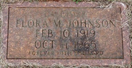 JOHNSON, FLORA M - Colbert County, Alabama | FLORA M JOHNSON - Alabama Gravestone Photos