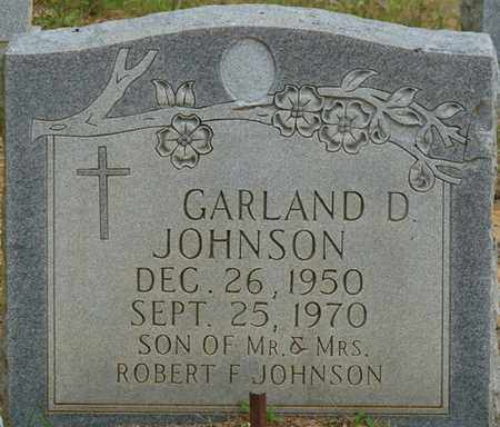 JOHNSON, GARLAND D - Colbert County, Alabama | GARLAND D JOHNSON - Alabama Gravestone Photos