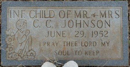 JOHNSON, INFANT - Colbert County, Alabama   INFANT JOHNSON - Alabama Gravestone Photos