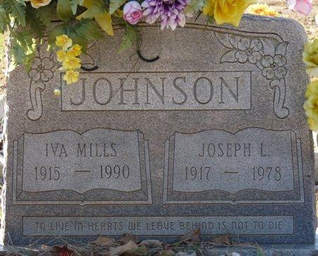JOHNSON, IVA - Colbert County, Alabama | IVA JOHNSON - Alabama Gravestone Photos