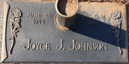 JOHNSON, JOYCE J - Colbert County, Alabama | JOYCE J JOHNSON - Alabama Gravestone Photos