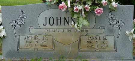 JOHNSON JR., ARTHUR - Colbert County, Alabama   ARTHUR JOHNSON JR. - Alabama Gravestone Photos