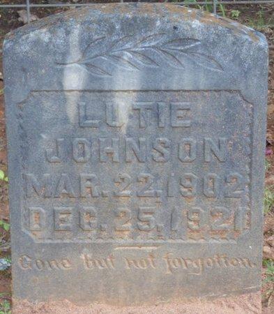 JOHNSON, LUTIE - Colbert County, Alabama   LUTIE JOHNSON - Alabama Gravestone Photos